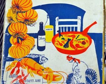 Vintage Spanish Cooking Cookbook by Elizabeth Cass