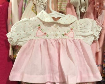1970s Baby Dress 3/6 Months