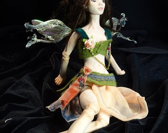 BJD OOAK Fairy Tale Fashion Doll Sarah Pierzchala