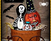 Apple Tree Cottage Original Design E Pattern - Halloween Hayride