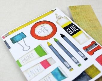 Bullet Journal, Notebook, Traveler's Notebook, Journal, Art Journal | Booklet #24