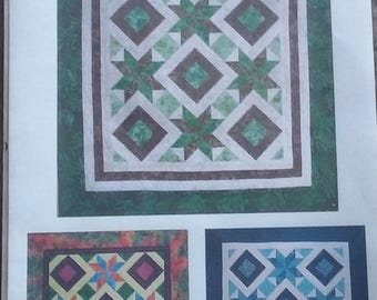 Kwik 8 Point Star by Two Quick Quilters