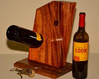 Wine Rack - Honduran Mahogany