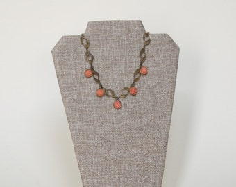 Antique Brass Necklace