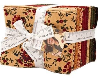 Moda GOOSEBERRY LANE Fat Quarter Bundle 33 Precut Cotton Fabric Quilting FQs Kansas Troubles 9540AB