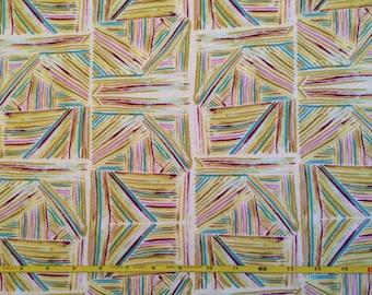 NEW Art Gallery Sunsweep Canyon Sage on cotton Lycra  knit fabric 1 yard.