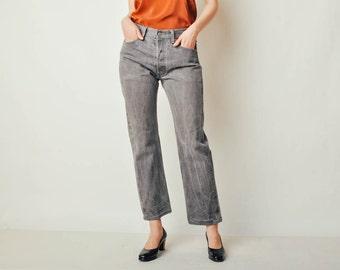 Vintage Gray 501 Levis Jeans (30x29)
