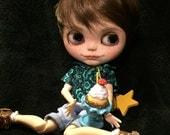 Custom Blythe Doll Cornelius customized Favtory Blythe Boy Art Doll One of a Kind..
