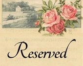 Reserved Custom for Cindy