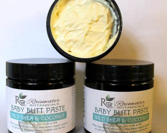 Baby Butt Paste Zinc Oxide at 16 percent, with tea tree and lavender essential oils