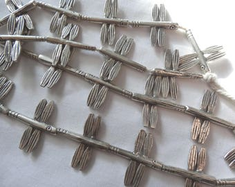 """11"""" Tribal Silver Dragonflies Eleven 25-25.5mm Long A696"""