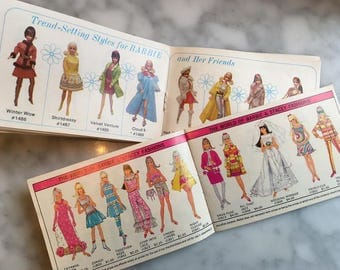 Mod *1968 Barbie's World FASHION BOOKLET* 14 Glossy Pages -Vintage Original Accessories