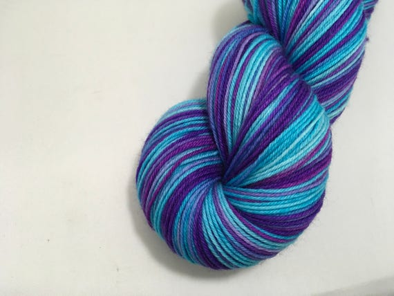 L. Lovegood - Dyed to Order - Hand Dyed - Merino Wool Yarn - Fingering Weight - Harry Potter Yarn