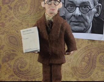 T.S. Eliot, Author Doll, Poetry Writer, Literary Figures, Miniature Art