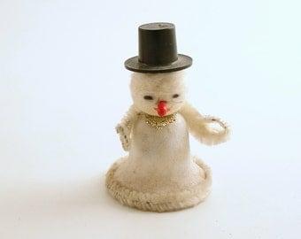 Vintage Snowman Christmas Decoration