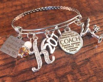 GYMNASTICS coach gift, COACH gift from team, gymnast, basketball coach, softball coach, volleyball coach gifts, team gift, coach quote