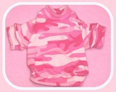 Reserved for Ava Pink Camo Cotton Knit Sleeved Shirt
