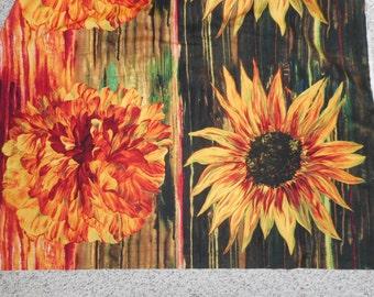 "22""x42"" floral panel"