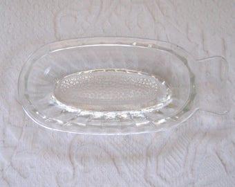 grater . glass grater . vintage glass grater, German glass grater . garlic grater
