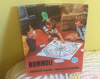 1940 Vintage Rummoli Board Game, Family Vintage Board Game, Childrens Game