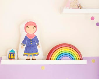 Muslim Doll Sewing Kit and cute mini toy