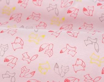 4397 - Fox Cotton Jersey Knit Fabric - 61 Inch (Width) x 1/2 Yard (Length)