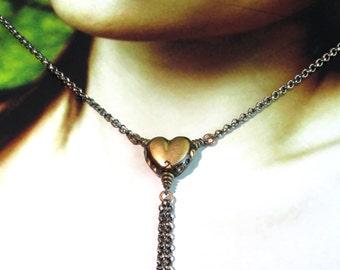 Mechanical Heart. Necklace