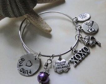 God Child ~ Child Size Expandable Style Bangle Charm Bracelet FREE SHIPPING