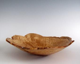 Wood Bowl - Black Birch Burl - Wood Turned Bowl - Wooden Bowl- Hand Turned Wood Bowl - Christmas Gift - Black Friday - Bark Edge Bowl