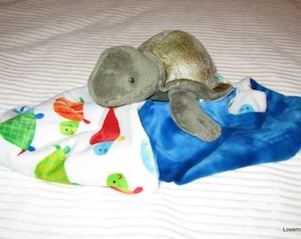Security Blanket - turtle - Lovems