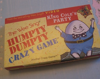 1991 humpty dumpty crazy game