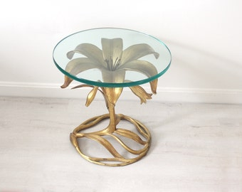 Arthur Court Style Lily Side Table