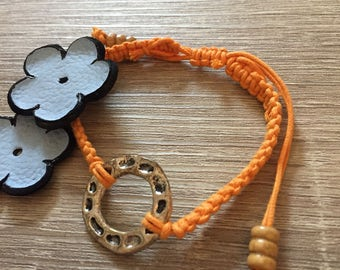 Macrame Corded Bracelet