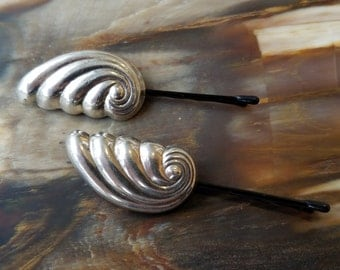Vintage Sterling Silver Taxco Hairpin (Hair Pin, Bobby pins) Set