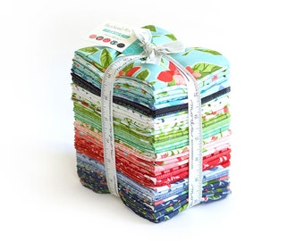 Hazelwood Fabric // Fat Quarter Bundle // 1canoe2 // cotton quilting