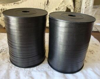 Black curling ribbon 500 yards black ribbon gift wrap party crafts supplies ribbon wrapping packaging supply