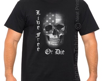 USA Skull Flag shirt, US Army shirt, Holiday Gift, Military T Shirt, Husband Gift, Veteran T-Shirt, Gift for soldier, American hero, patriot