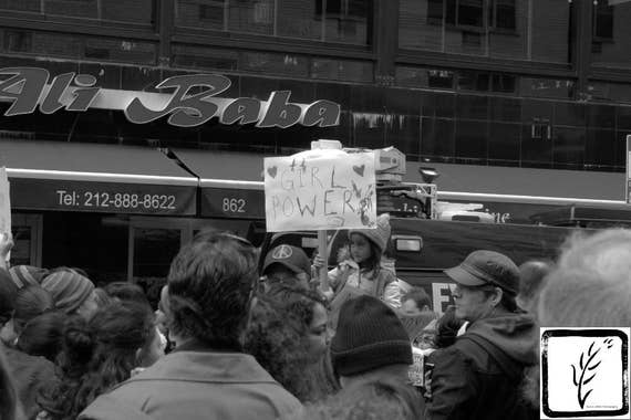 B&W Photograph, #nastywomen, #shepersisted, #whyImarch, resist, fine art, photo print, wall art, home decor, protest, New York, Manhattan