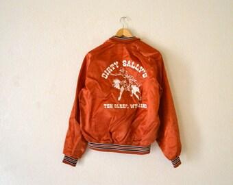 "1970's ""Dirty Sallys"" Nylon Jacket"