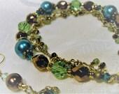 Green Garden Girl Bracelet