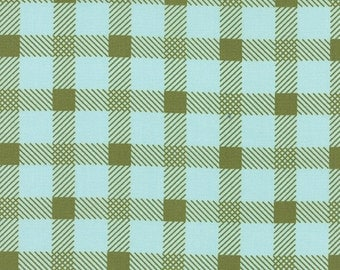 Little Miss Sunshine Plaid Summer Sky by Lella Boutique for Moda Fabrics 100% Quilters Cotton Available in Yards, Half Yards & Fat Quarters