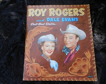 PAPERDOLLS Roy Rogers and Dale Evans 1950's Set