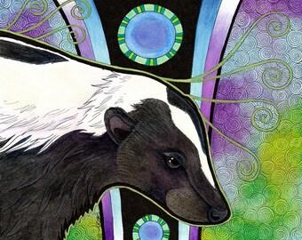 Striped Skunk as Totem