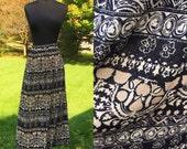 Vintage 70s Boho Hippie Harmony Skirt  Medium Large XL