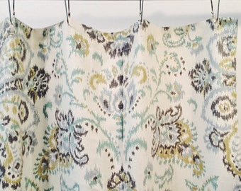 Ikat Multicolor Shower Curtain