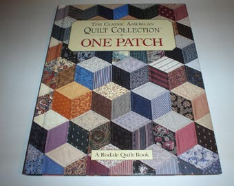 Quilt Book called ONE PATCH great ideas for scraps Item 111c