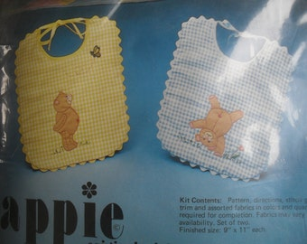 Baby Bibs to Embroider and Sew Set of 2