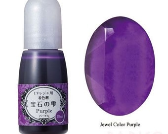 211865 Padico purple liquid coloring for UV Resin from Japan