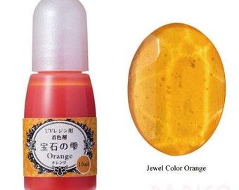 211870 Padico orange liquid coloring for UV Resin from Japan