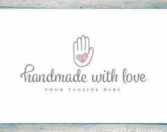 Handmade Logo, Art Craft Logo,  Crochet Logo, Knitting Logo, Custom Logo, Premade Logo Design